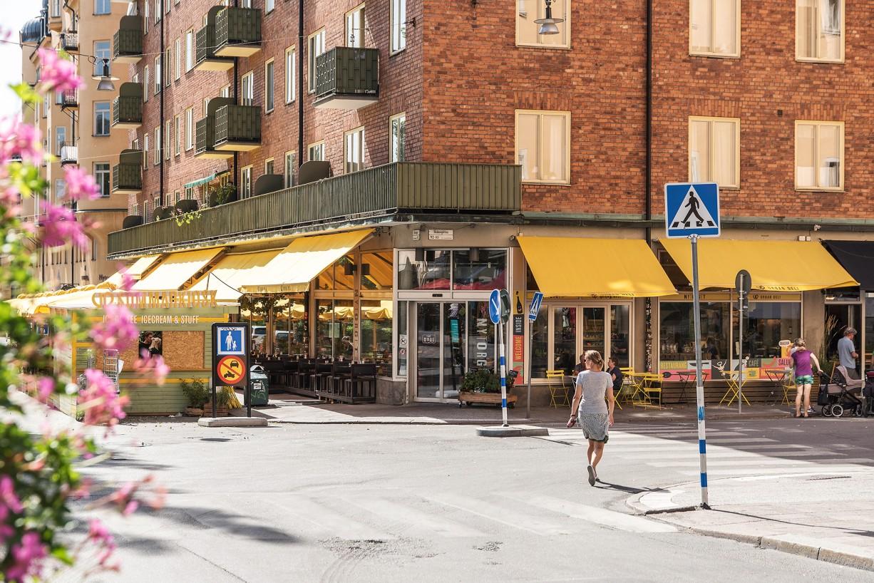 Urban Deli vid krogtäta Nytorget Bondegatan 74A, vindsetage