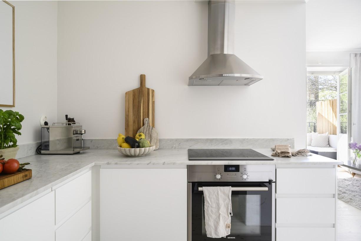 Stilrent och snyggt kök Lundagatan 52