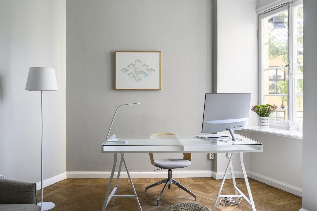 Ytor att möblera med en eller två sängar Hantverkargatan 7