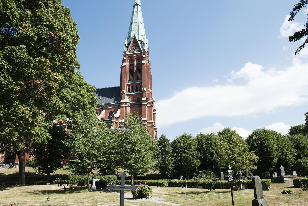 Intill Johanneskyrkan Drottninghusgränd 2