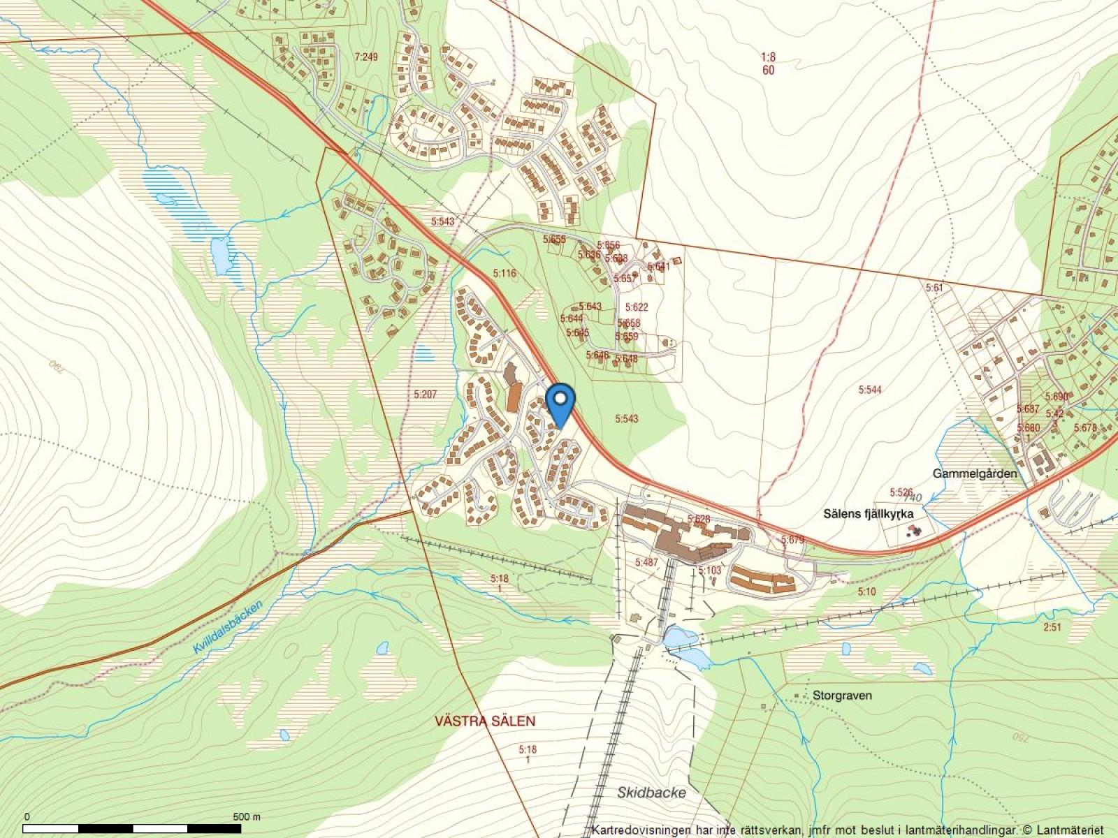 Fastighetskarta Vråken 7c