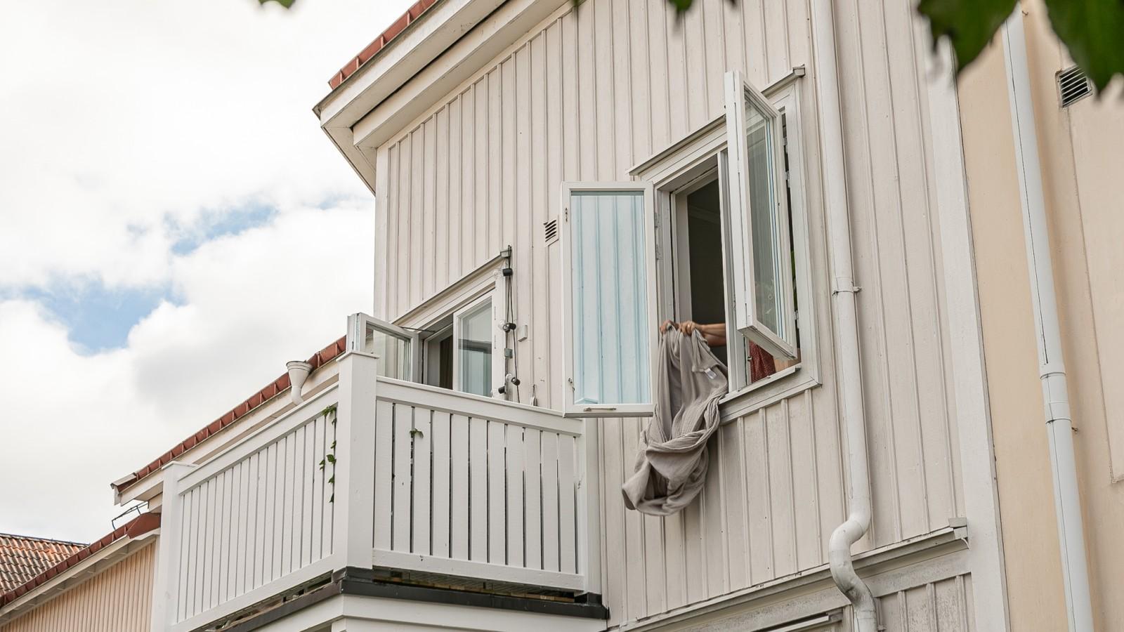 Balkongen..