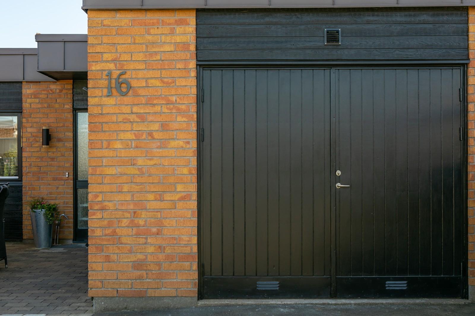 Gamla garaget..