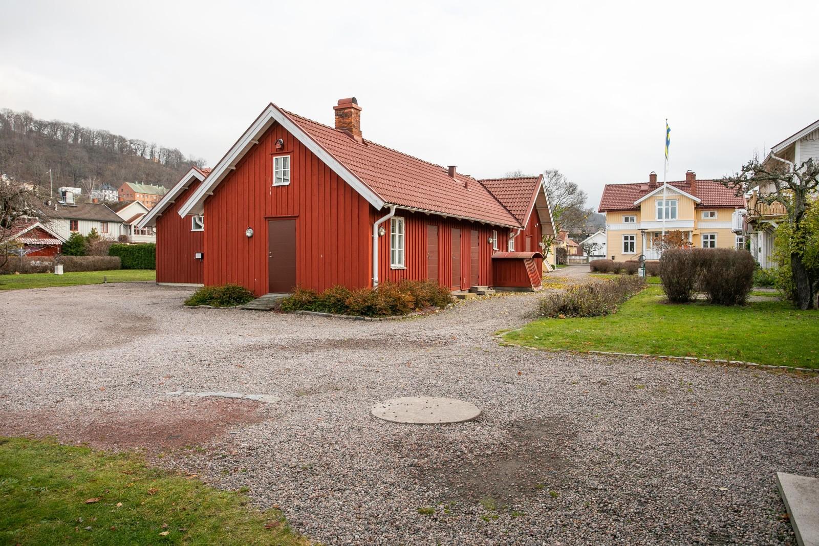 Föreningens gård..
