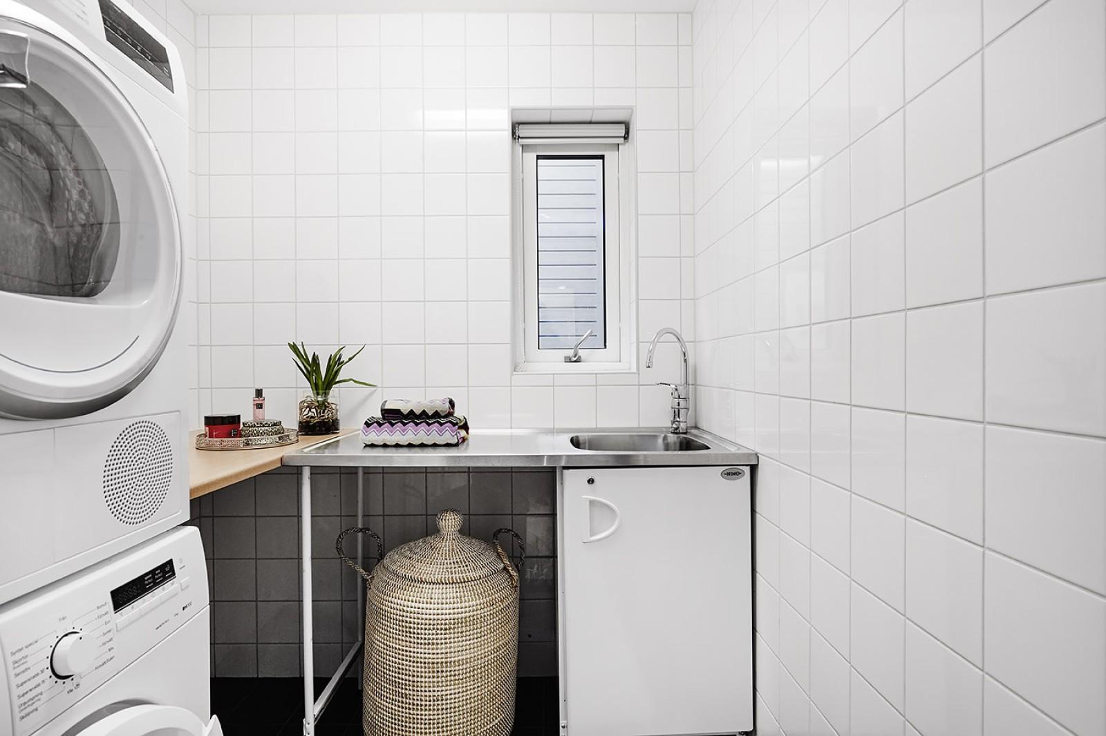 Badrum - Tvättstuga..