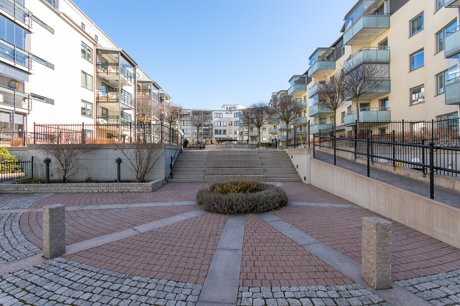 Föreningens innergård..