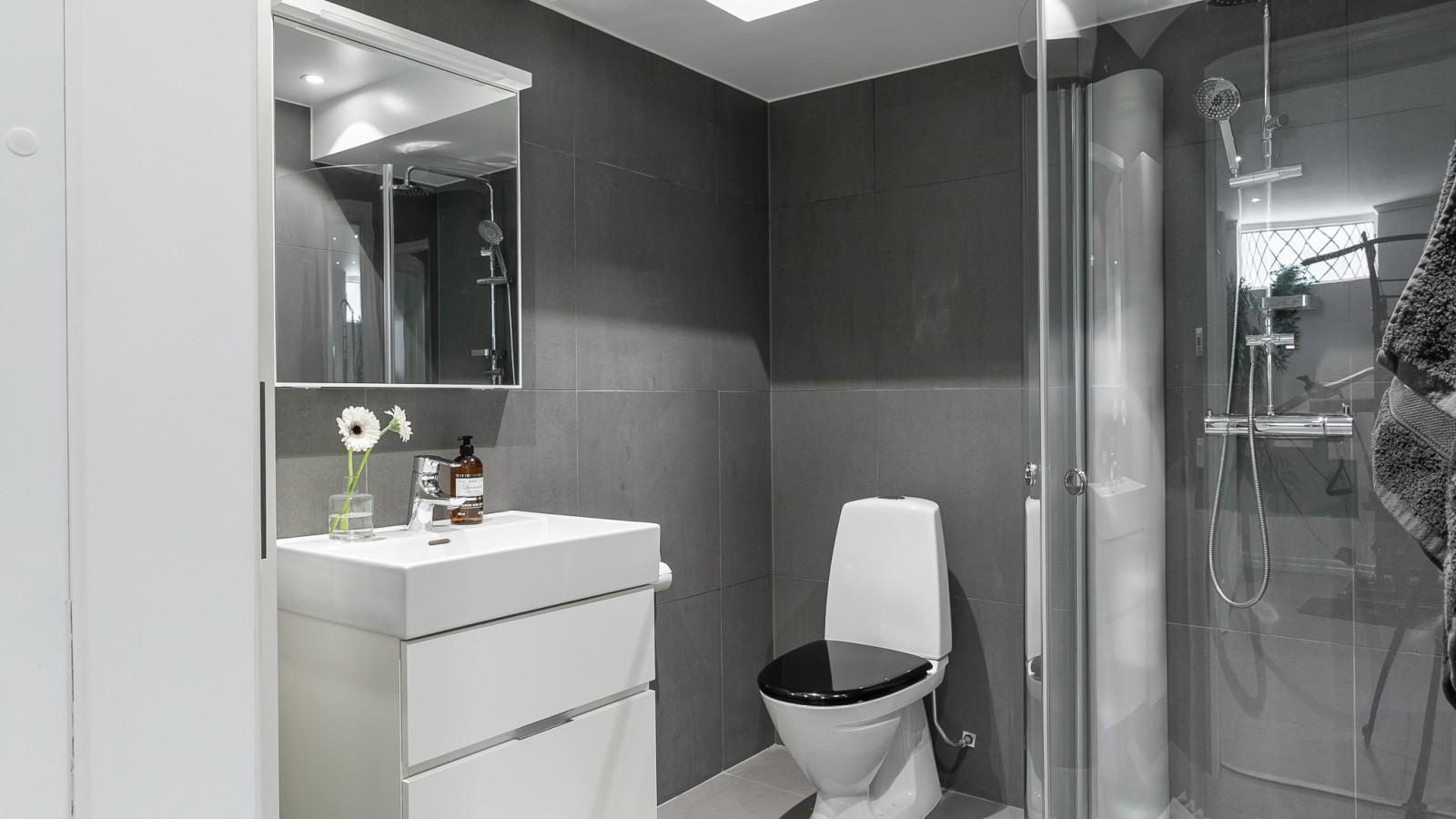Hemmagymmet med duschrum..