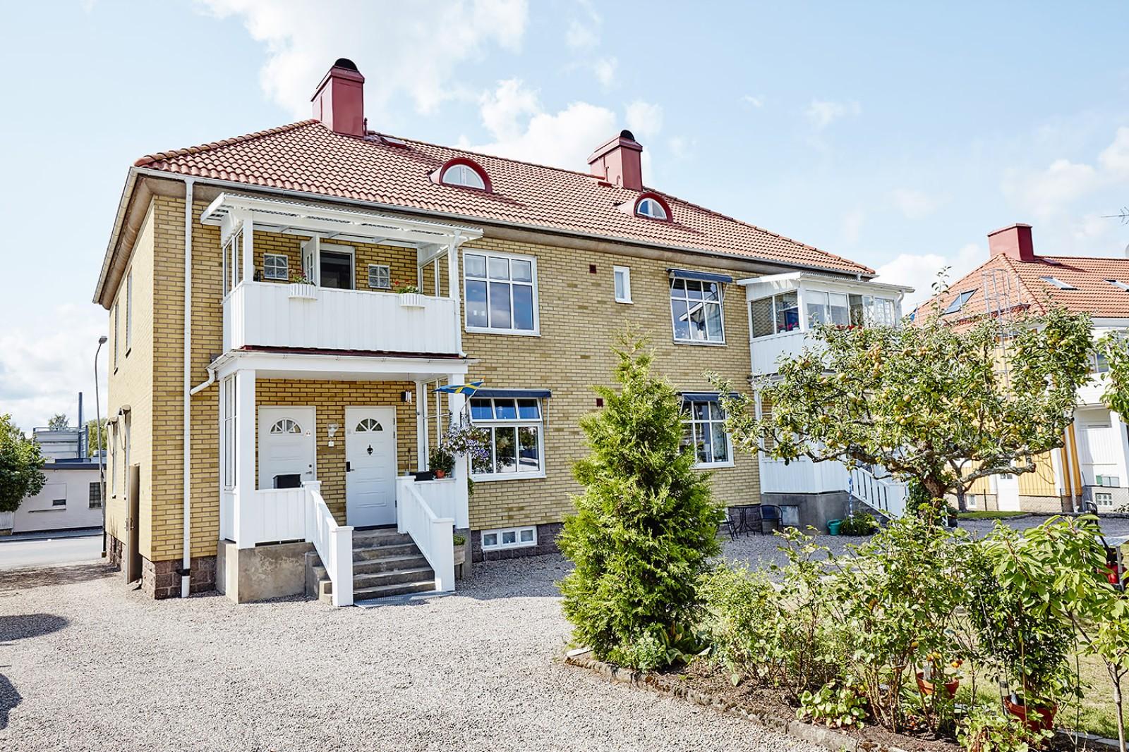 Föreningens hus..