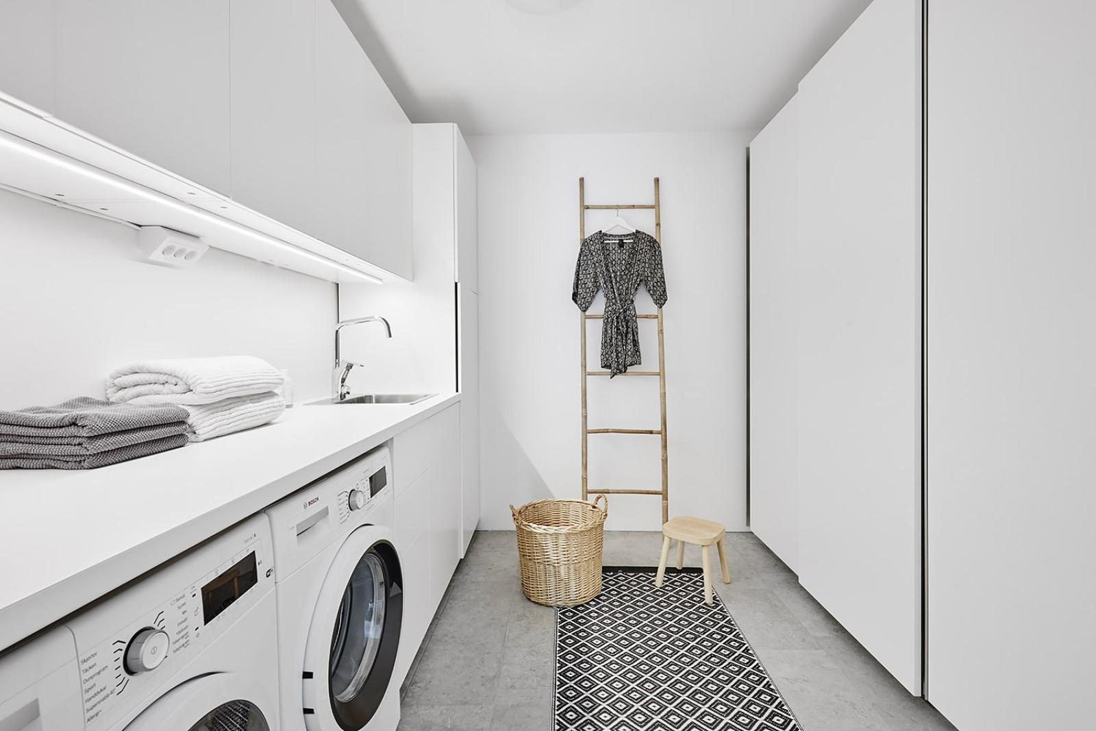 Tvättstuga..