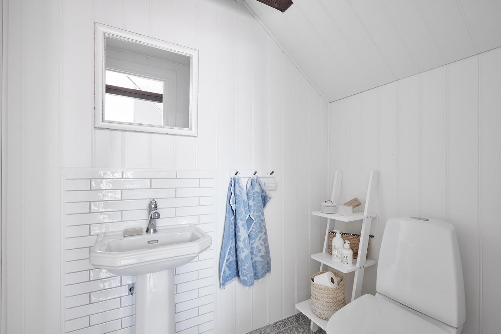 WC vid sovrum 3..