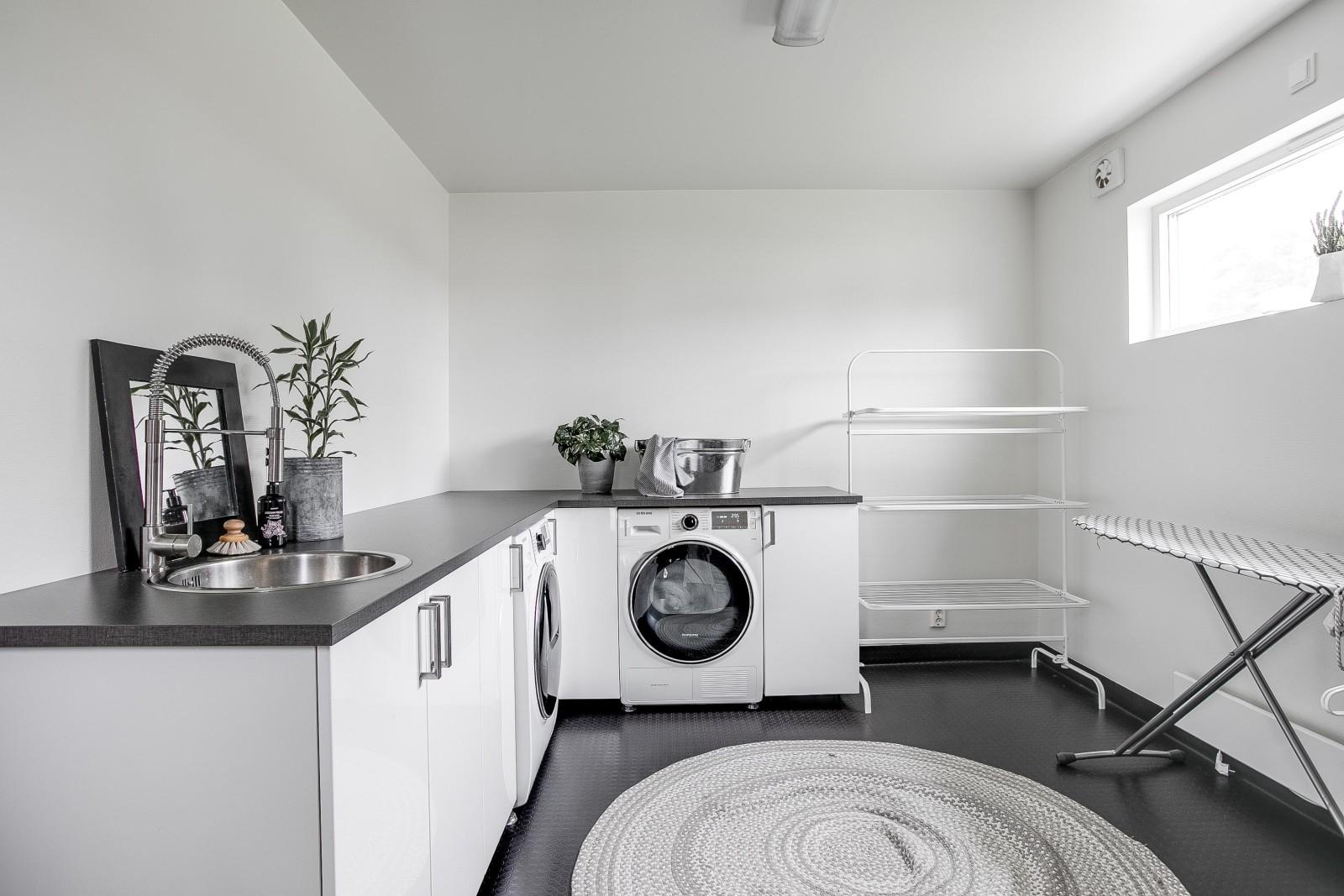 Tvättstuga - Förråd..