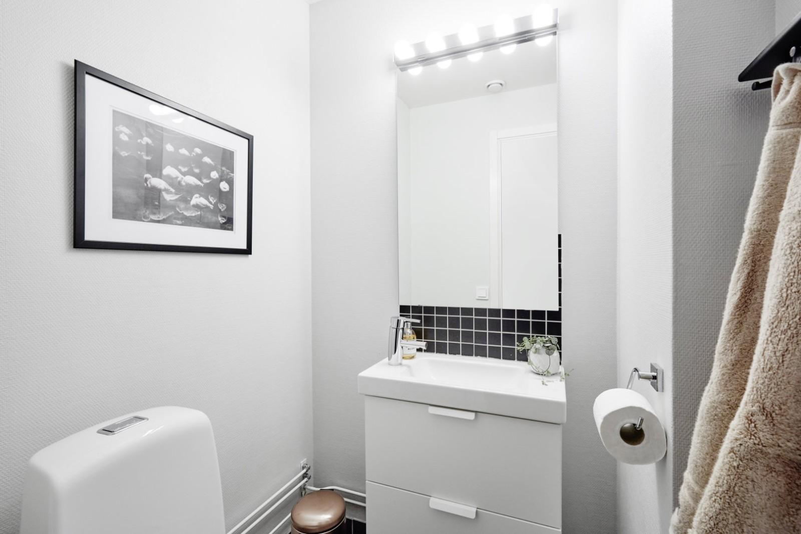 Lilla toaletten..