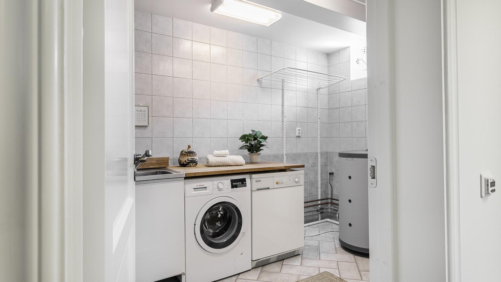Tvättstuga och klädvård..