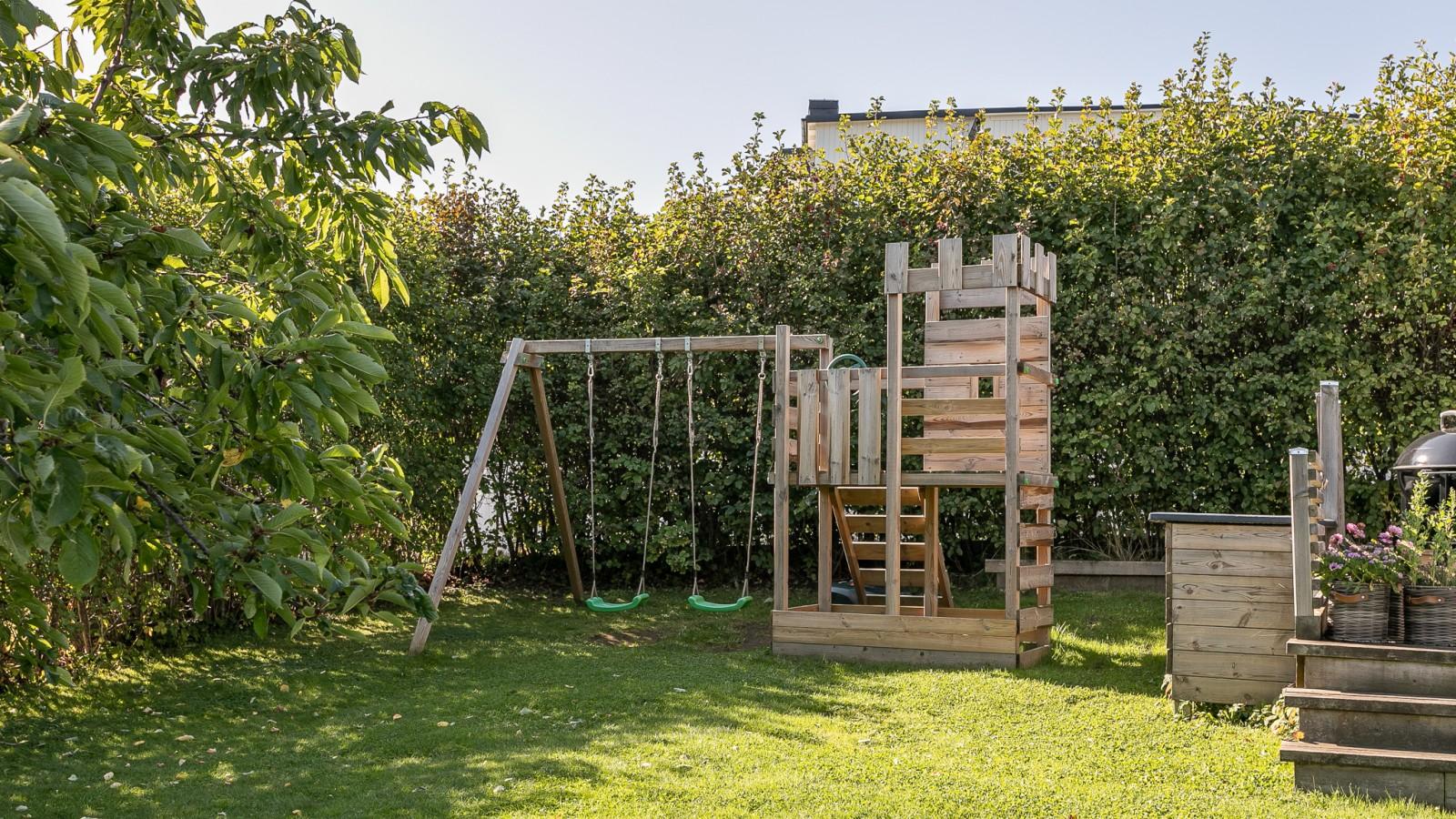 Trädgården..