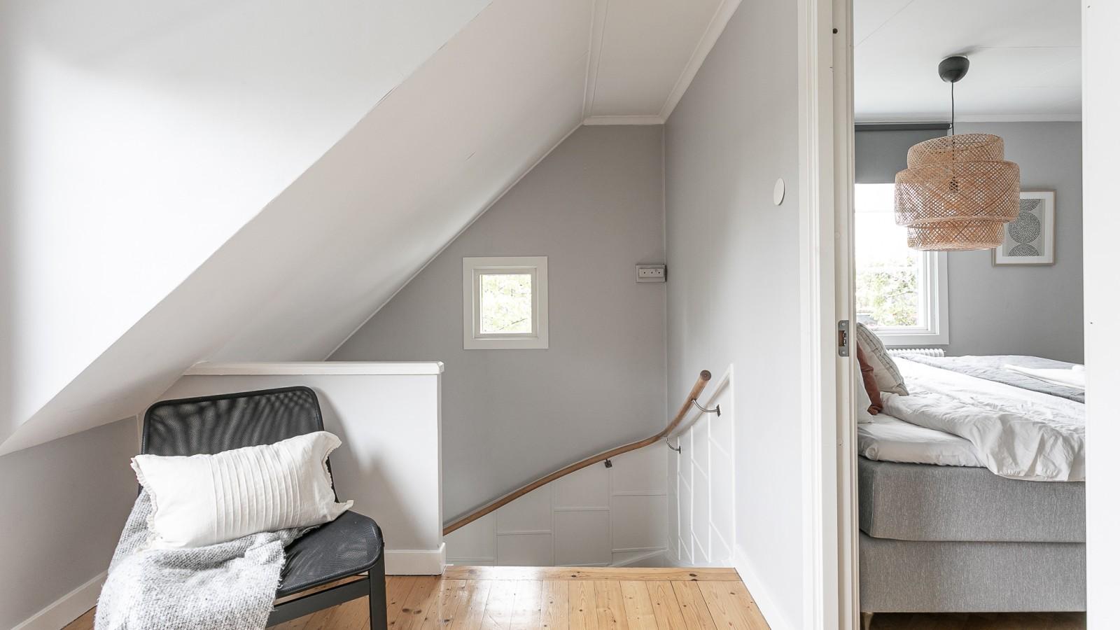Övervåningen..