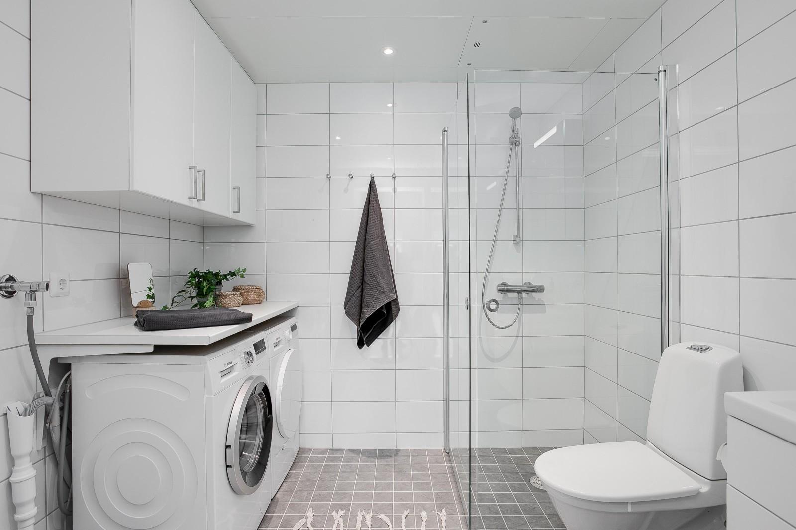 Badrum och tvätt..