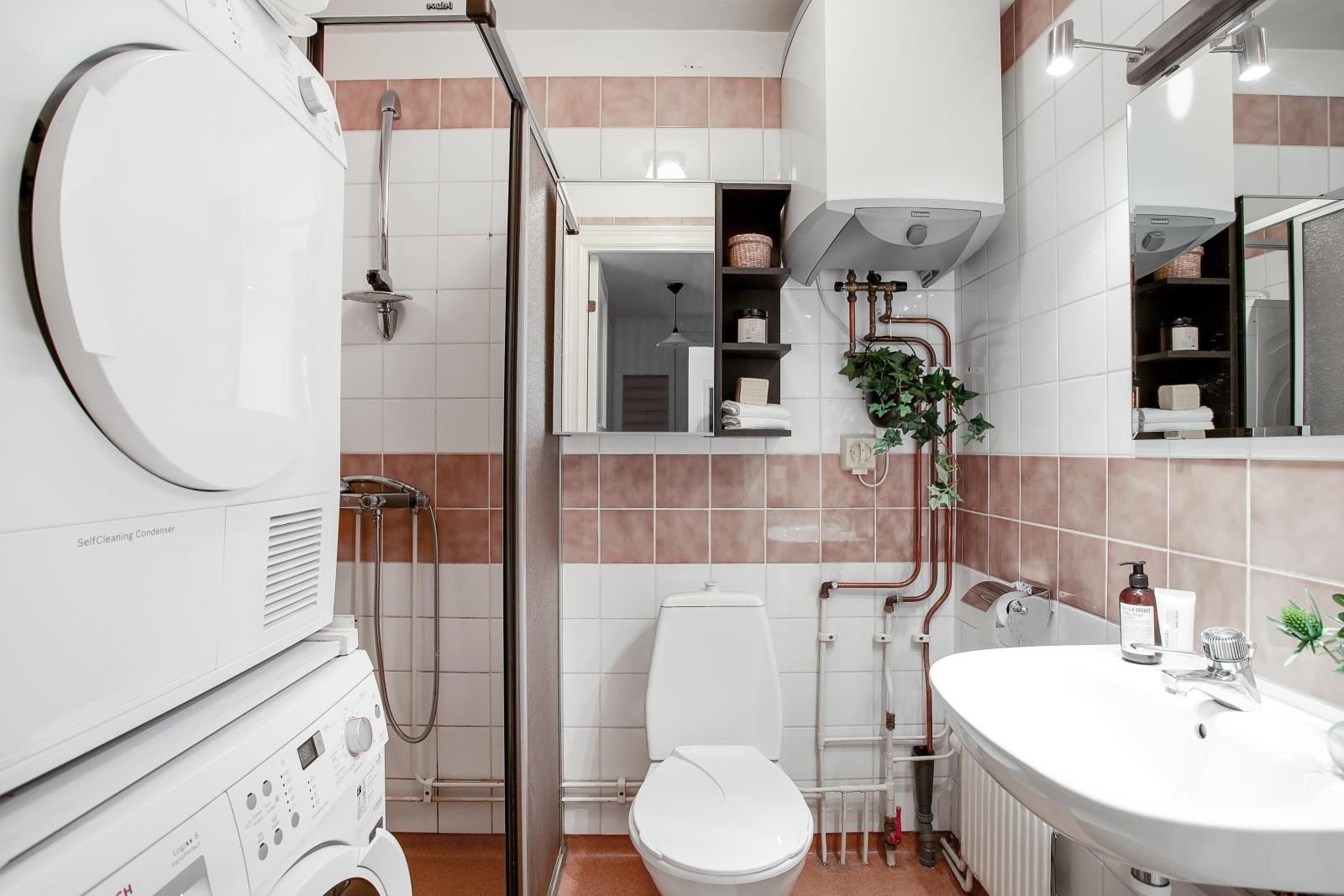 Dusch och tvätt..