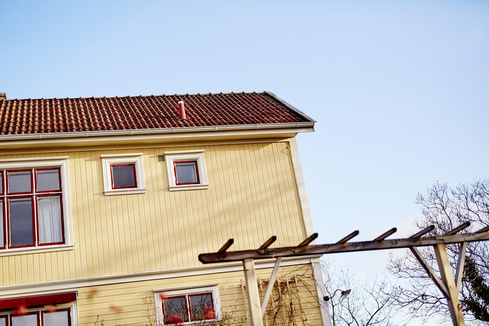 ...mer om huset..