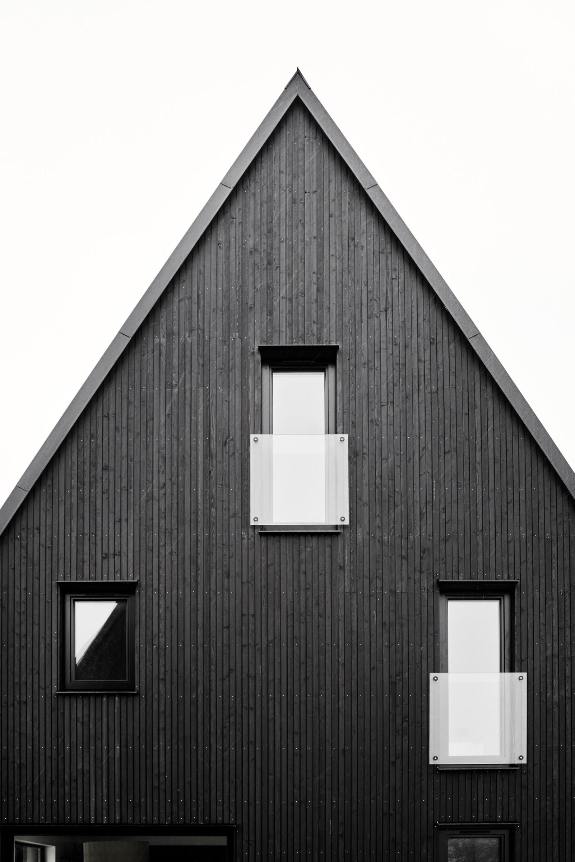 Referensbild från Hansa-hus i tidigare etapp. Avvikelser finns i material och utförande Västerhejde Hallbrosvägen 3A